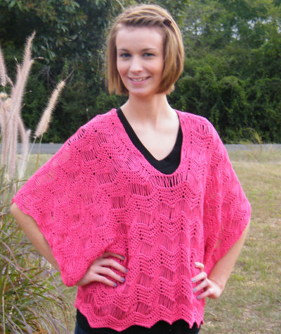 Free Crochet Pattern For Kimono : Rosaline Kimono Tunic